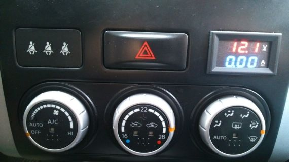 Schema Elettrico Voltmetro Per Auto : Come lamperometro è collegato al circuito. come collegare l